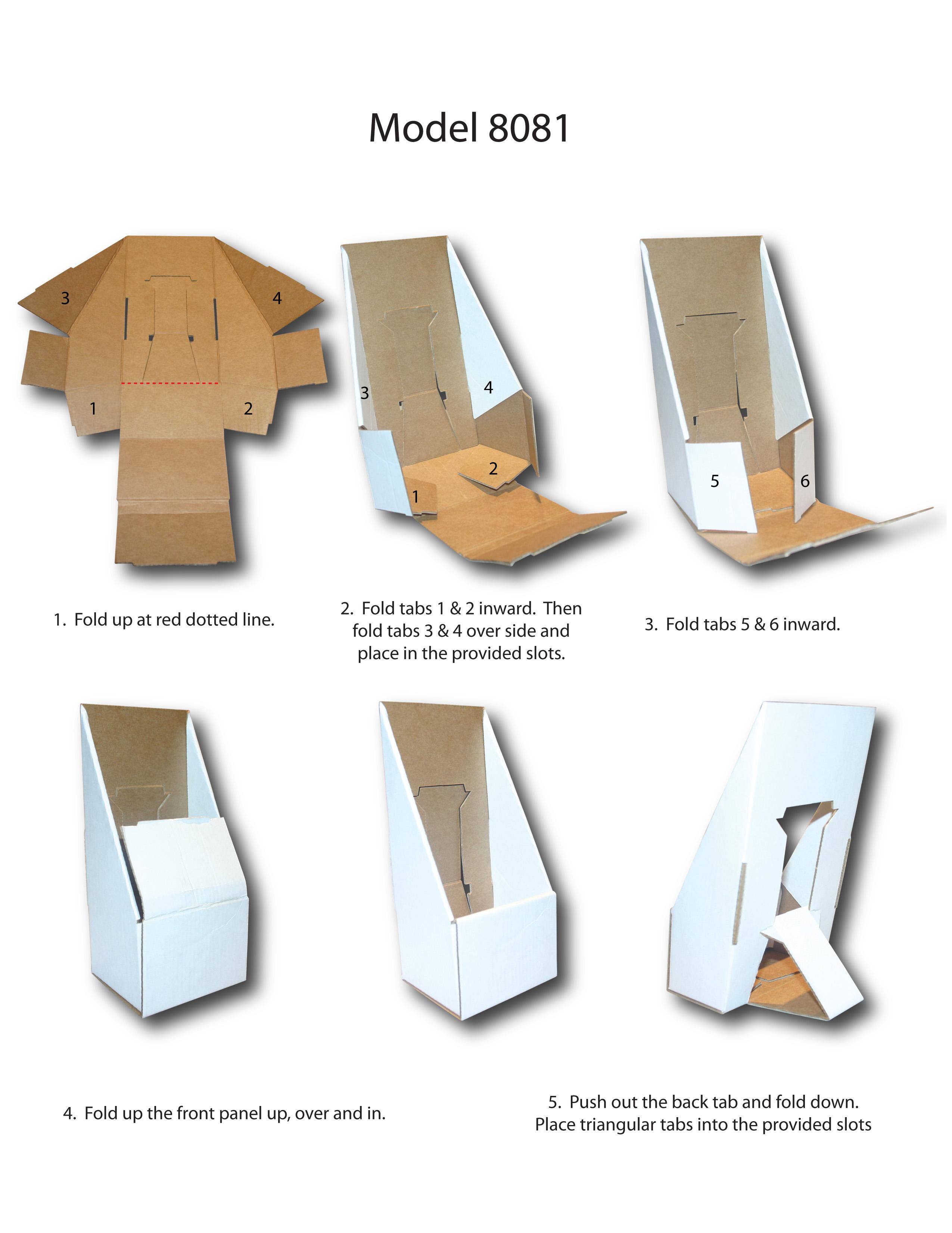 New Tri Fold Brochure Holder