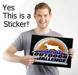 Giant Custom Stickers At ANY Quantity - Order custom stickers online